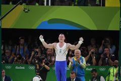 Олимпийское гимнастическое Стоковые Фото