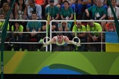 Олимпийское гимнастическое Стоковая Фотография RF