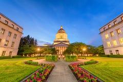 Олимпия, Вашингтон, США заявляет здание капитолия стоковое фото