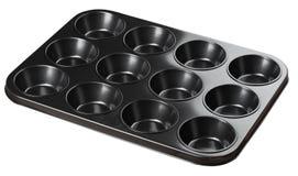 олово булочки 12 чашек Стоковая Фотография RF