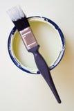 олово краски щетки стоковые фотографии rf