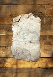 олово плиты предпосылки ржавое деревянное Стоковые Изображения RF