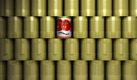 олово чонсервных банк стоковое изображение rf