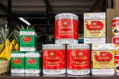 Олов тайского чая стоковые фото
