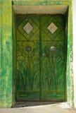 Оманская дверь Стоковые Фотографии RF