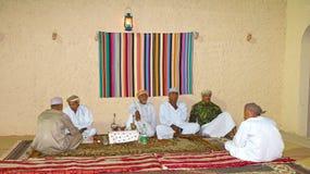 Оманское Majlis стоковое фото rf