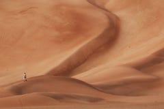 Оман: Пустой квартал Стоковая Фотография