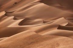 Оман: Пустой квартал Стоковые Изображения