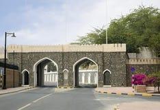 Оман Старый строб города столетия Bab Waljat XVI Стоковые Изображения RF