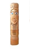 домашний хранитель идола деревянный Стоковые Фото