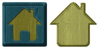 домашняя икона стоковая фотография rf