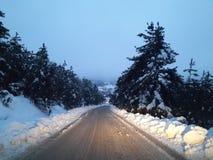 домашняя дорога к Стоковые Фотографии RF