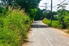 домашняя дорога к Стоковые Изображения RF