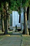 дома в древесинах Стоковая Фотография