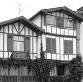 2 дома в Saint-Jean-de Luz Стоковая Фотография RF