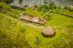 2 дома в Trikora Стоковое Изображение