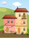 2 дома Стоковые Изображения