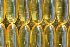 Омега 3 капсулы геля рыбьего жира Стоковая Фотография