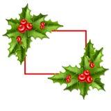 Омела 10eps рождества Frame2 Стоковые Фотографии RF