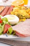 омлет завтрака здоровый Стоковое Изображение RF