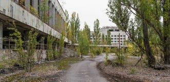 20 2006 домов привидения обитали в не городке pripyat который леты ярдов Стоковое Фото