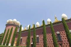 28 1974 домов figueres dali собрания разнообразных самых больших большинств salvador раскрытый музеем Испания -го сентябрь одиноч Стоковое Изображение RF