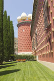 28 1974 домов figueres dali собрания разнообразных самых больших большинств salvador раскрытый музеем Испания -го сентябрь одиноч Стоковое фото RF