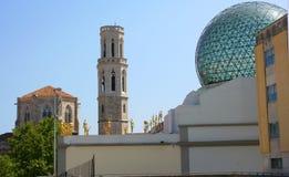 28 1974 домов figueres dali собрания разнообразных самых больших большинств salvador раскрытый музеем Испания -го сентябрь одиноч Стоковое Фото