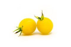 2 доморощенных томата вишни Стоковые Фото