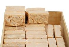 домодельное естественное мыло Стоковая Фотография