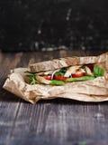 домодельный сандвич Стоковые Изображения RF