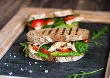 домодельный сандвич Стоковая Фотография RF