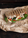 домодельный сандвич Стоковое Изображение