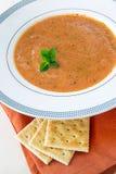 домодельный томат супа Стоковая Фотография RF