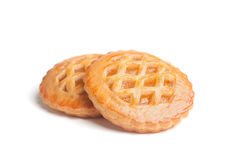 2 домодельных пирога Стоковое фото RF