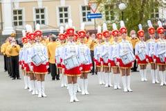 Омск, Россия - 8-ое мая 2013: президентский полк стоковое фото