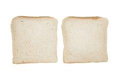 ломтики изолированные хлебом 2 Стоковые Фотографии RF