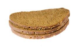 ломтики 3 хлеба Стоковые Фото