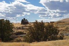 дом амбара старая Стоковое Изображение RF