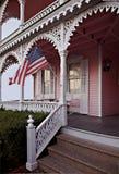 дом викторианец Cape May Стоковая Фотография RF