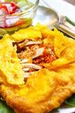Омлет заполненный вьетнамцем кудрявый. Стоковые Фотографии RF
