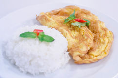 омлет тайский Стоковые Фотографии RF