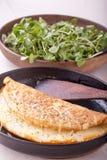 Омлет soufflé сыра Стоковое Изображение RF