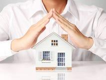 дом защищает Стоковая Фотография