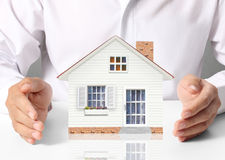 дом защищает Стоковая Фотография RF