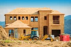 дом здания новая Стоковые Изображения