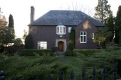 дом кирпича старая Стоковая Фотография RF