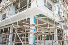 дом конструкции здания новый Стоковая Фотография