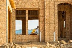 дом конструкции новая Стоковое Изображение RF