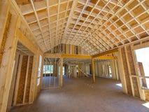 дом конструкции новая Стоковая Фотография